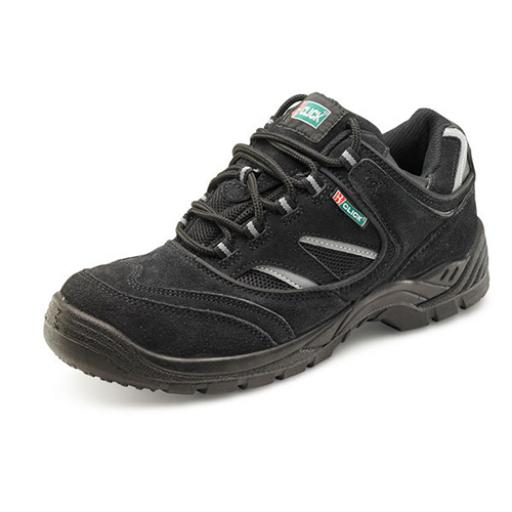 Click Footwear Double Density Trainer Shoe Black 03