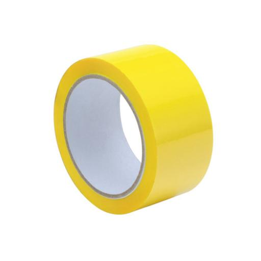 Tape Polypropylene 50mmx66m Yellow [Pack 6] *2017 Mailer*