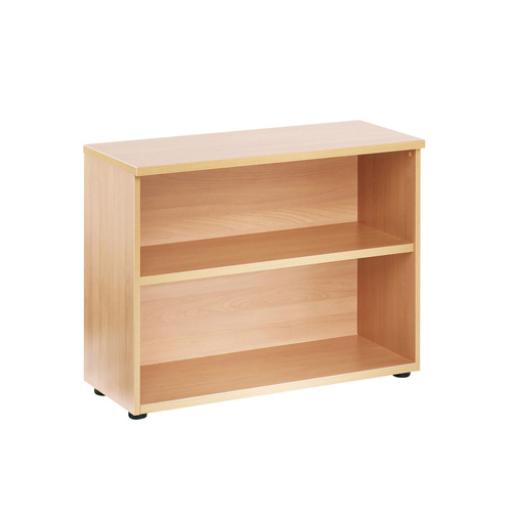 Jemini 730mm Bookcase 1 Shelf Beech KF838412
