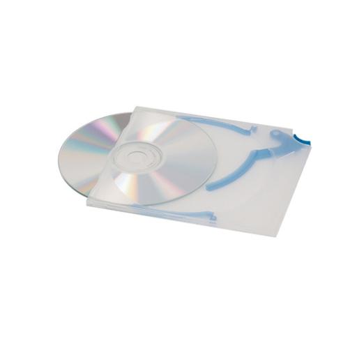 Durable CD Quickflip Standard Case Slimline Clear Ref 5267 [Pack 5]
