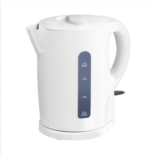 5 Star Facilities Kettle Cordless Automatic Shut Off & Water Level 2200W 1.7 Litre *2017 Mailer*