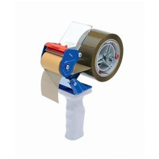 Sellotape Carton Sealer with Brake Blue