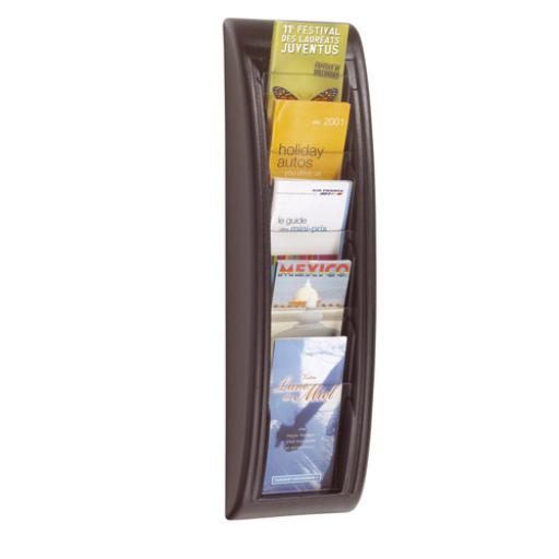 Fast Paper Quick Fit Wall Display System 1/3XA4/Dl Black F406201