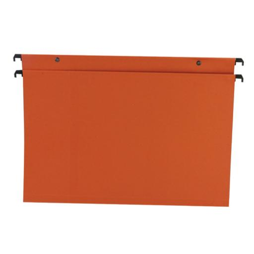 Esselte Orange Suspension Foolscap File 30 mm (Pack of 50) 10403
